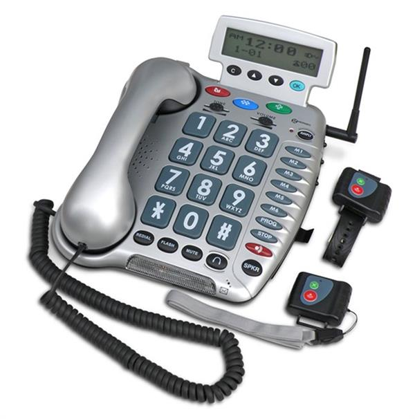 Image of Ampli 600 phone and emergency response pendant